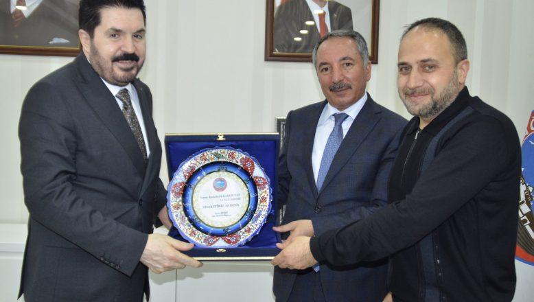 Rektör Karabulut'tan Başkan Sayan'a Ziyaret
