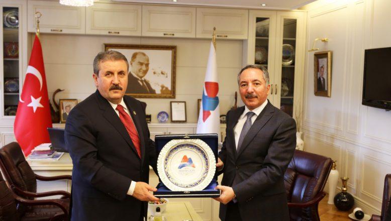 Destici'den Rektör Karabulut'a Ziyaret