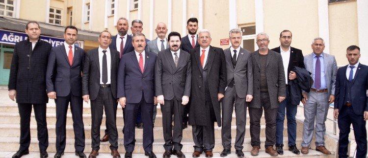 Başkan Sayan'a Ziyaretler Devam Ediyor