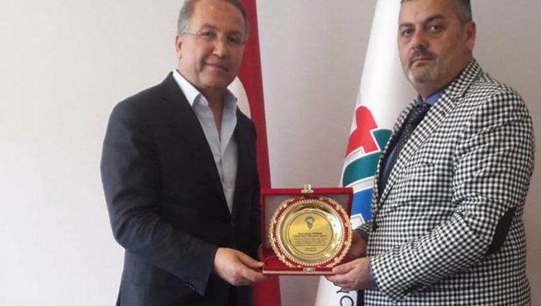 OGC Genel Başkanı Aydın, TTF Başkanı Cengiz Durmuş'la Bir Araya Geldi