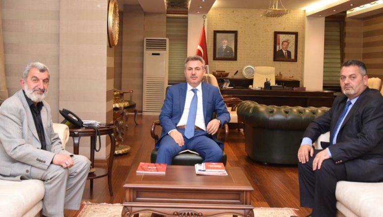 OGC'DEN Vali Elban'a Ziyaret