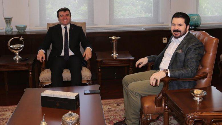 Başkan Sayan'dan, Dışişleri Bakan Yardımcısı Kıran'a Ziyaret