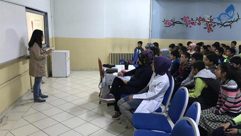 Mehmet Akif Ersoy Ortaokulunda Güvenilir Gıda Eğitimi Verildi