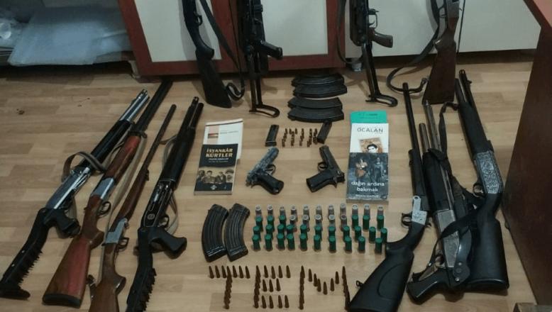 Ağrı'da terör örgütü operasyonu 11 gözaltı