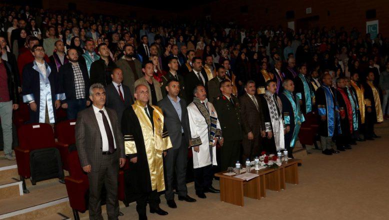 AİÇÜ'de 2018 – 2019 Eğitim Öğretim Yılı Mezuniyet ve Ödül Töreni Yapıldı