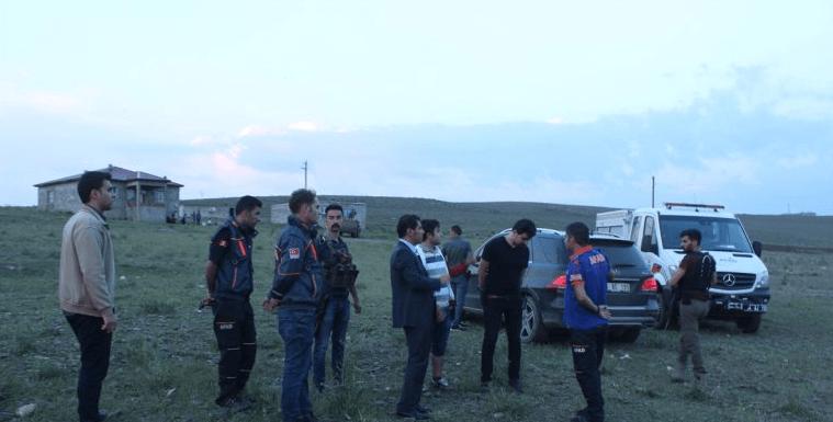 Ağrı- Diyadin'de Sel Felaketi  ve Yıldırım Çarpması 4 Can Aldı