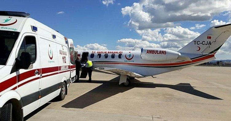 Devlet: Tutak'lı Bebek için Seferber Oldu, Ağrı'ya Özel Ambulans Uçak İndi!