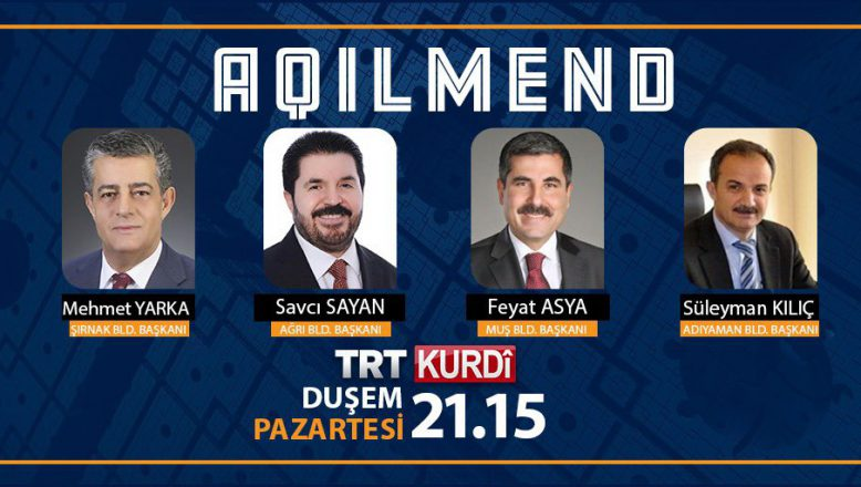 Başkan Savcı Sayan Bu Akşam TRTKurdi'de