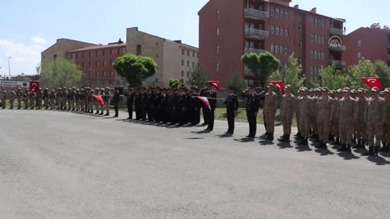 Ağrı'da Jandarma teşkilatının 180. kuruluş yıl dönümü  törenlerle kutlandı