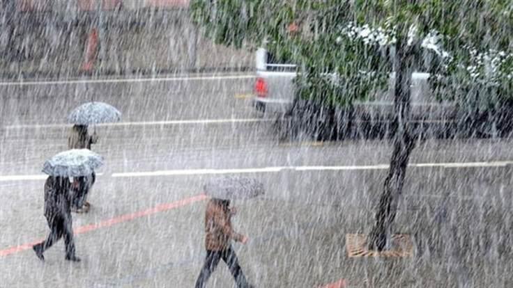 Ağrı'ya Bugün Sağanak Yağış Geliyor!
