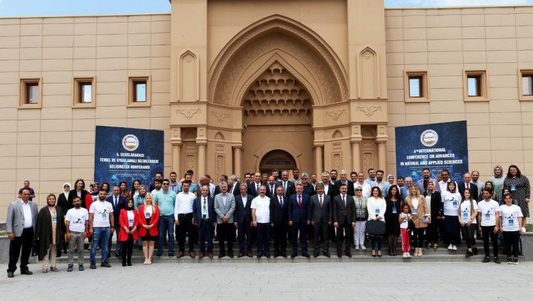 """AİÇÜ'de 4.""""Uluslararası Temel ve Uygulamalı Bilimlerdeki Gelişmeler Konferansı""""Başladı"""