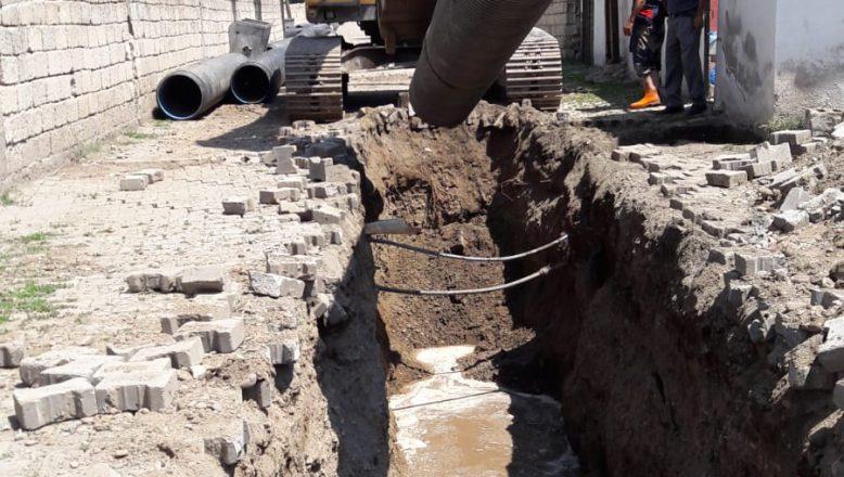 Ağrı Belediyesi Altyapı Çalışmalarına Hız Verdi