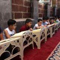 Ağrı Camilerinde binlerce çocuk sesi