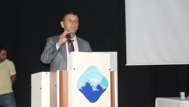ASTOP  Başkanı Aydın; Ağrı artık eski Ağrı olmayacaktır