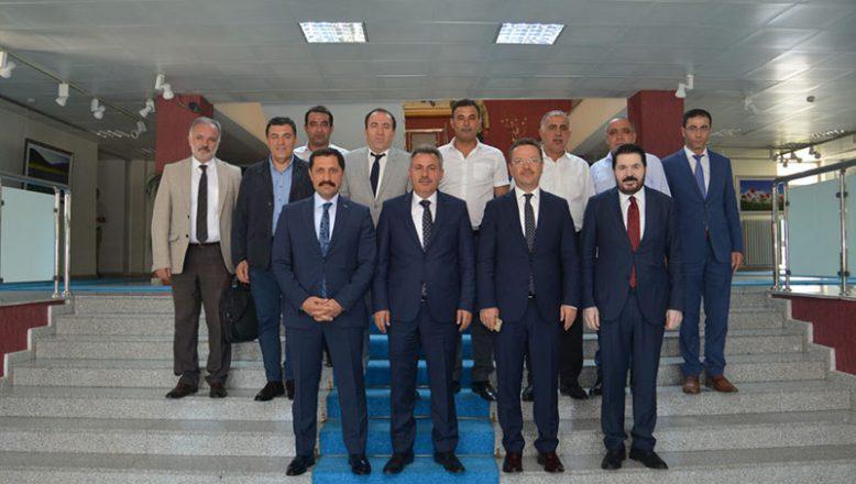 SERKA Yönetim Kurulu Ağrı'da toplandı