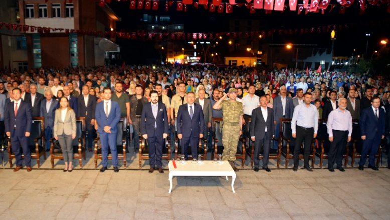 AİÇÜ Rektörü Karabulut, 15 Temmuz Demokrasi ve Milli Birlik Günü Programına Katıldı