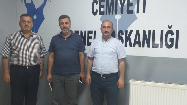 İHH Genel Başkan Yardımcısı Kaygan'dan, OGC Genel Başkanı Aydın'a Ziyaret