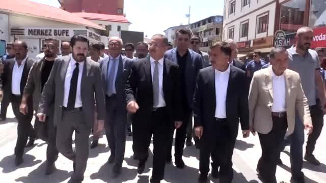Ak Parti Genel Başkan Yardımcısı Özhaseki; Ağrı'da Huzur var