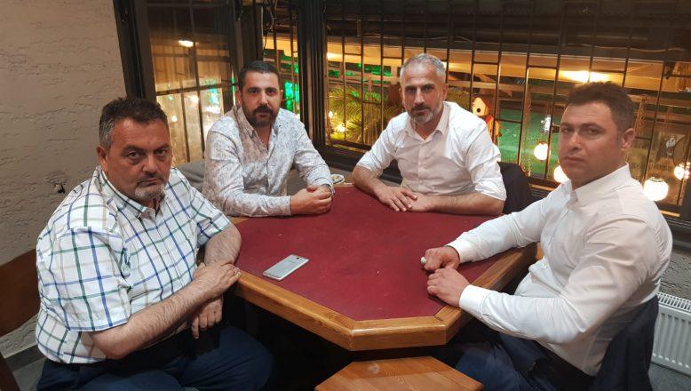 Ak Ocaklar Derneği Genel Başkanı Yiğit'ten, İşadamı Volkan Barbaros'a Ziyaret