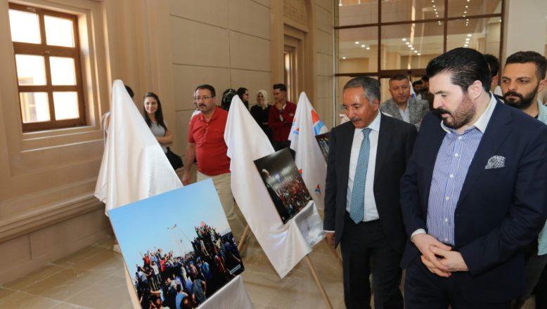 """AİÇÜ'de """"15 Temmuz İhaneti ve Ekonomik Kuşatılmışlık"""" Konulu Konferans Düzenlendi"""