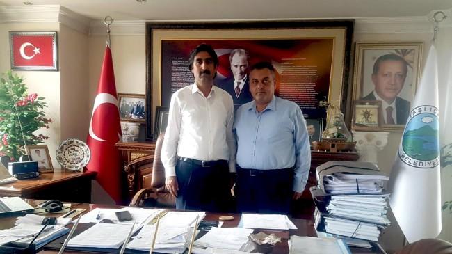 OGC Genel Başkanı AYDIN'dan Başkan Taşdemir'e Ziyaret