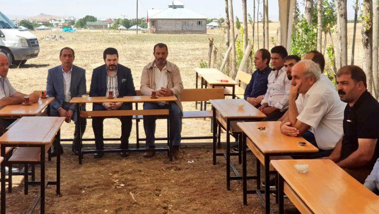 Başkan Sayan'dan Şehit Ailesi Tunç'a Ziyaret