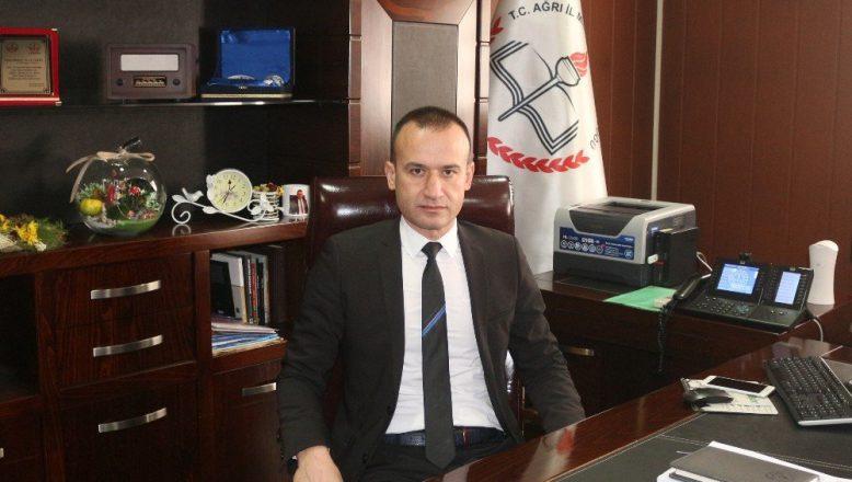 Ağrı Milli Eğitim Müdürlüğüne  M. Faruk Tekin'in Ataması Yapıldı