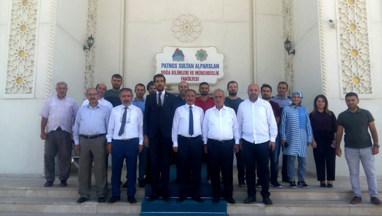 Ağrı İbrahim Çeçen Üniversitesi 1071 Malazgirt Zaferi Kutlamaları'na Katıldı