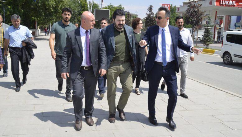 Türkiye Belediyeler Birliğinden Ağrı Ziyareti