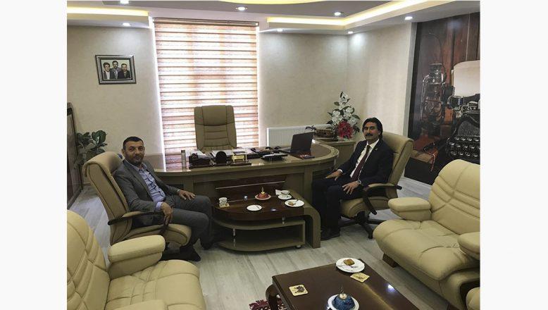 Baro Başkanı Aydın'a, Başkan Taşdemir'den Ziyaret