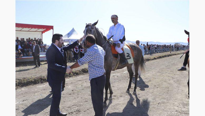 Ağrı'da At Yarışları Nefesleri Kesti