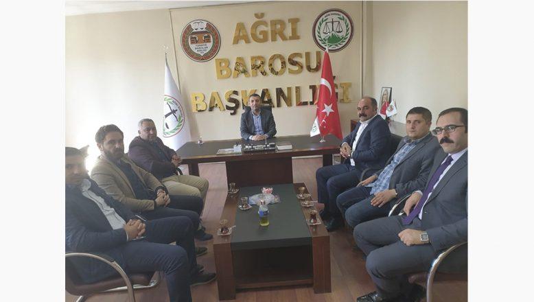Milletvekili Öztürk'ten Ağrı Barosuna Ziyaret