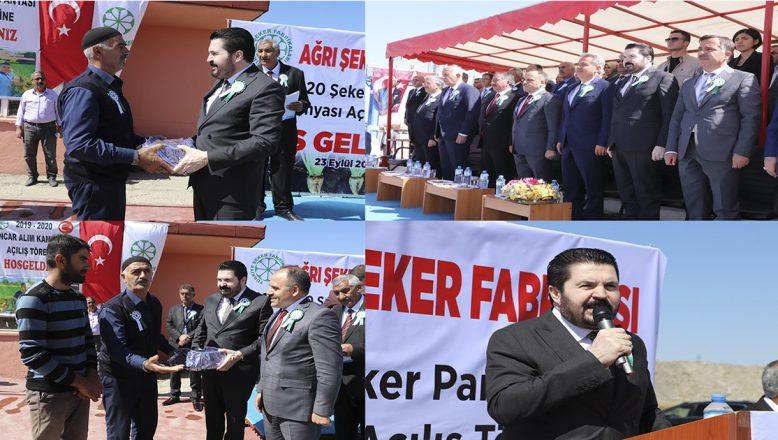 Savcı Sayan Pancar Alımı Açılış Töreninde: Pancarı Tefecilik Öldürdü