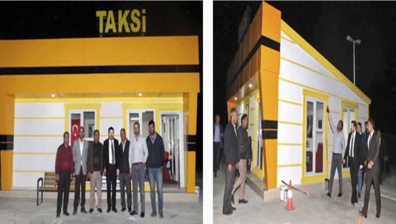 Ağrı Belediye Başkanı Savcı Sayan'ın, Yeni Taksi Durakları Projesi Hayata Geçiyor