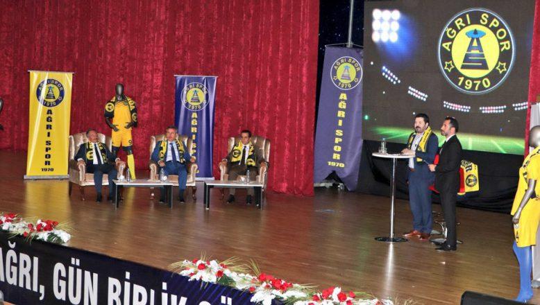 Savcı Sayan'ın Ağrı Spor'a Destek Kampanyasına 2 Milyon TL  Bağış Yapıldı