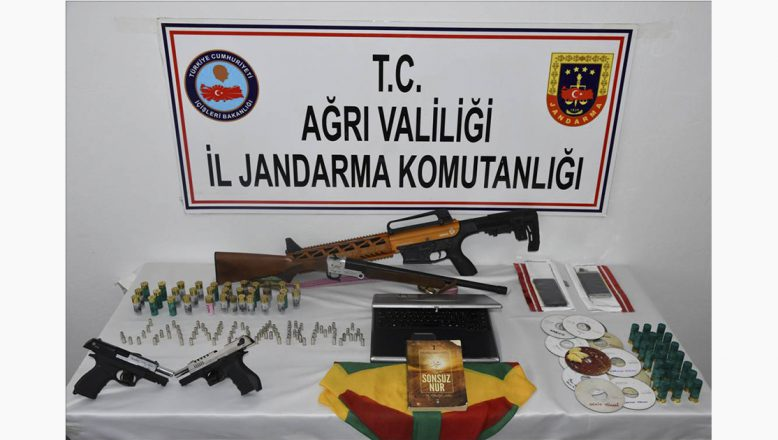 Ağrı Patnos'ta PKK/KCK'ya Yönelik Operasyonda 12 Gözaltı