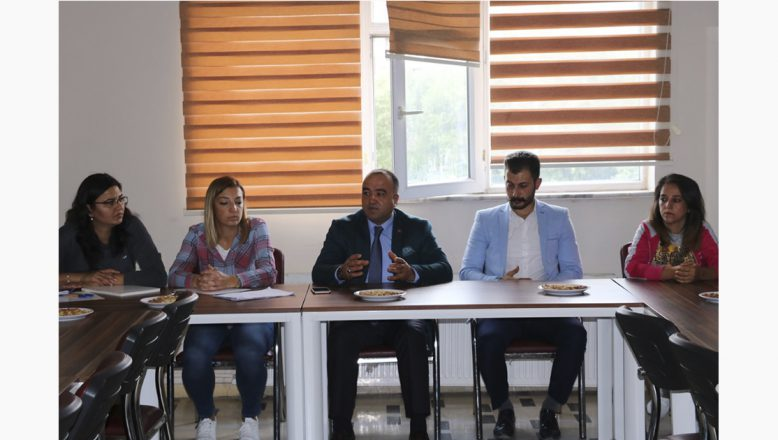 Ağrı'da Sportif Yetenek Taraması Veli Bilgilendirme Toplantısı Yapıldı