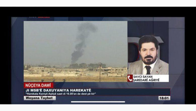 Savcı Sayan TRT Kurdi'ye Konuştu