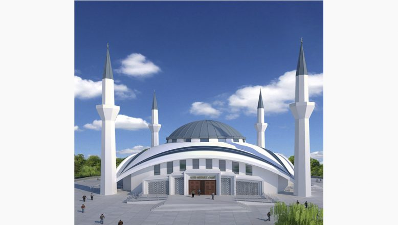 Ağrı 'nın 4 bin 500 kişilik Ulu Camii İbadete Açıldı