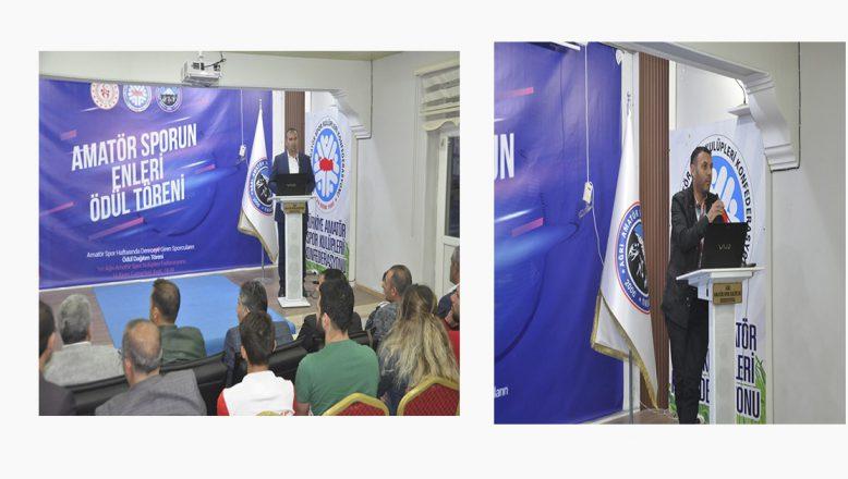 Ağrı'da Amatör Spor Haftasının Kapanış Töreni Muhteşem Geçti
