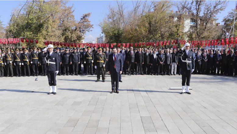 Ağrı'da 29 Ekim Cumhuriyet Bayramı Kutlamaları Törenle Başladı