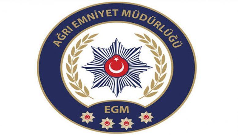 Ağrı'da Çevik Kuvvet Polislerine Eğitim Tatbikatı