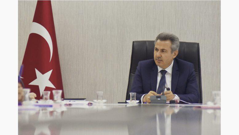 Vali Elban Başkanlığında,İl İstihdam ve Mesleki Eğitim Kurulu Toplantısı Gerçekleşti