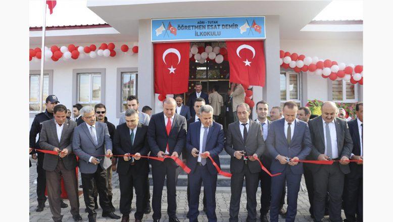 Ağrı Valisi Süleyman Elban Tutak'ta 2 Okul Açılışı Yaptı