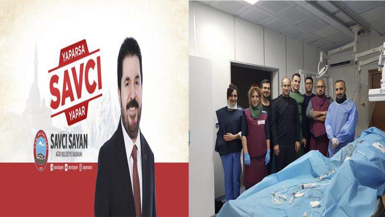 Başkan Sayan'dan Sağlık Bakanı Koca'ya Teşekkür