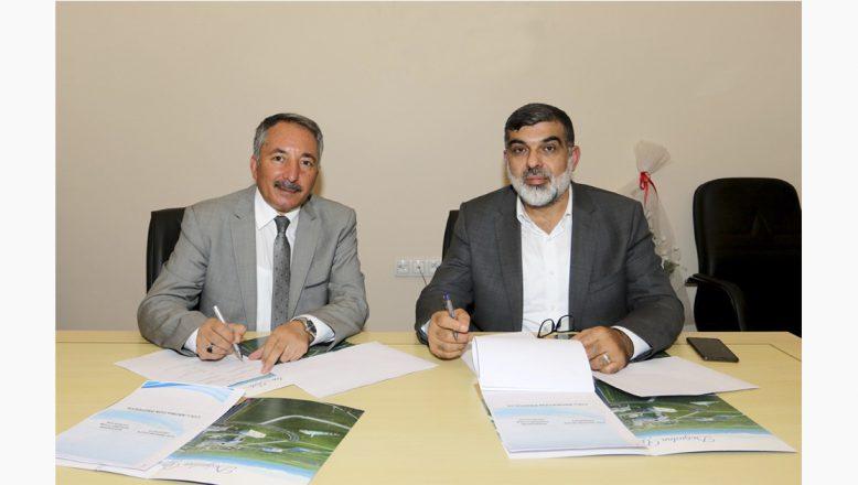 AİÇÜ İle Başakşehir Akademisi İlham Vakfı Arasında İşbirliği Protokolü İmzalandı
