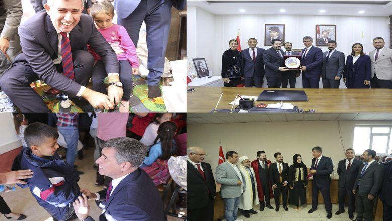 TBB Başkanı Metin Feyzioğlu'nun Ağrı Ziyareti Unutulmaz Anılar Bıraktı