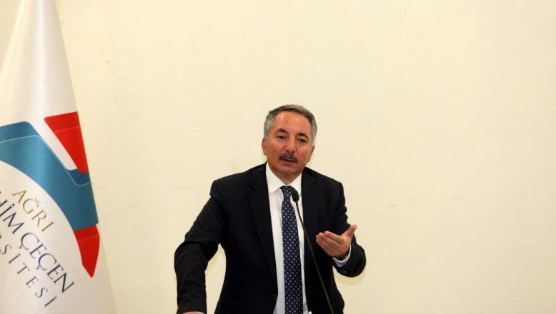 AİÇÜ Rektörü Prof.Dr. Abdulhalik Karabulut'tan Kamuoyu Açıklaması