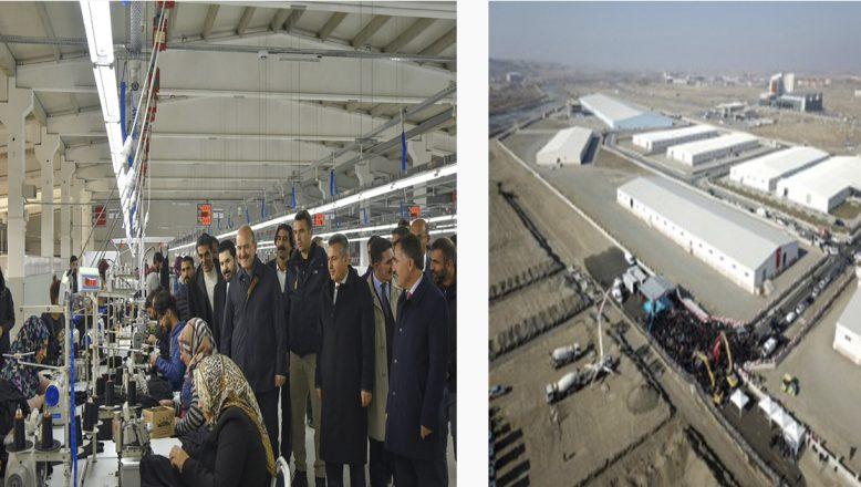Ağrı Doğu ve Güneydoğu'da Tekstilde Üretim Merkezi Olacak