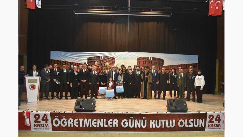 Ağrı'da 24 Kasım Öğretmenler Günü Kutlamaları